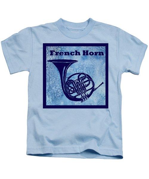 French Horn Kids T-Shirt