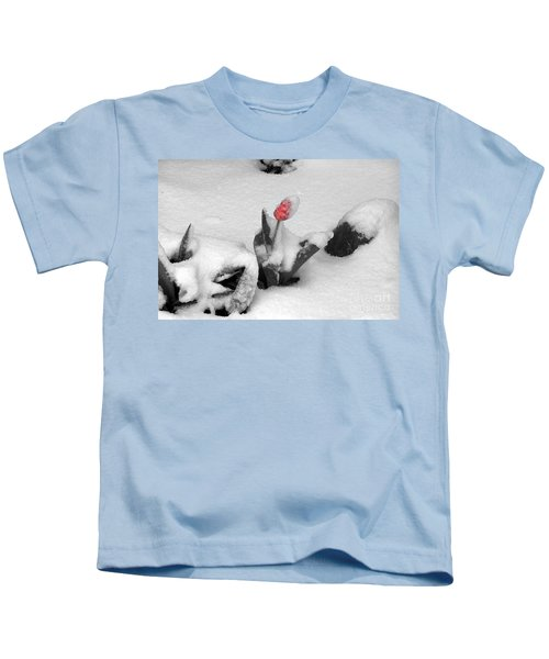 Frosted Pink Kids T-Shirt