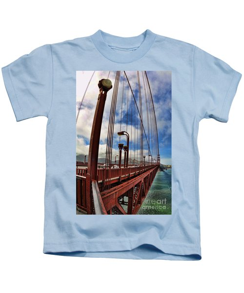 Golden Gate Bridge - 7 Kids T-Shirt