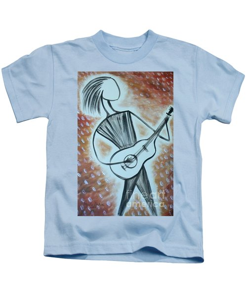 Guitar Man Kids T-Shirt