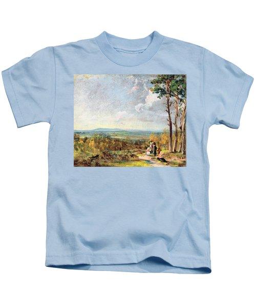 Hampstead Heath Looking Towards Harrow Kids T-Shirt