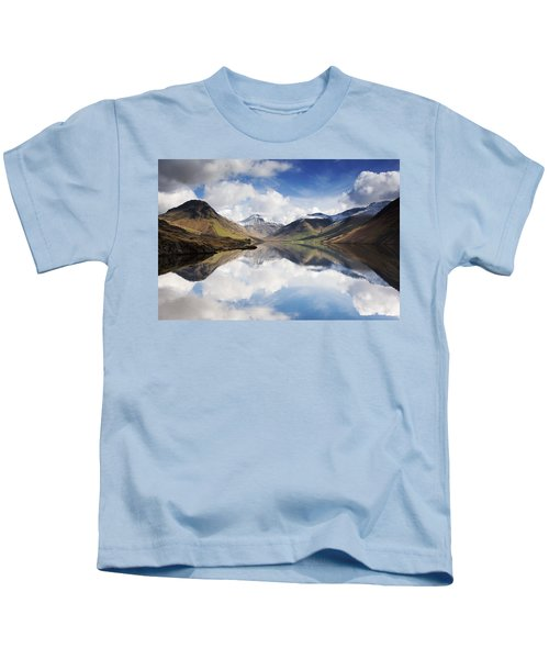 Mountains And Lake, Lake District Kids T-Shirt