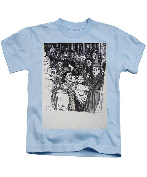 New Year's Eve 1950's Kids T-Shirt