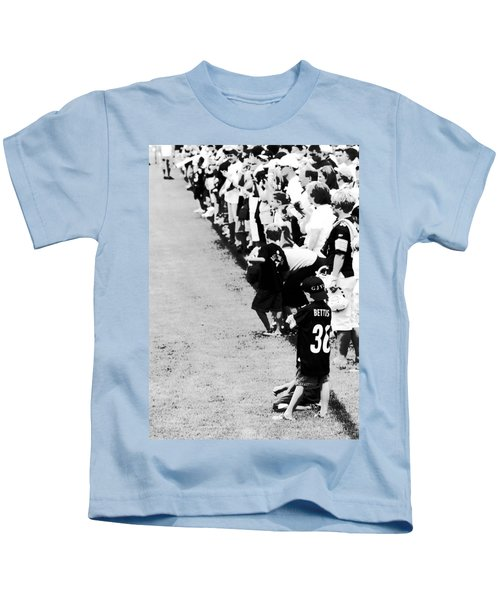 Number 1 Bettis Fan - Black And White Kids T-Shirt