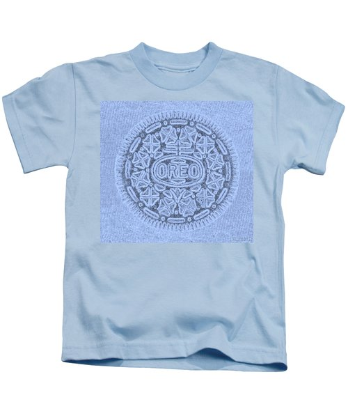 O R E O In Cyan Kids T-Shirt