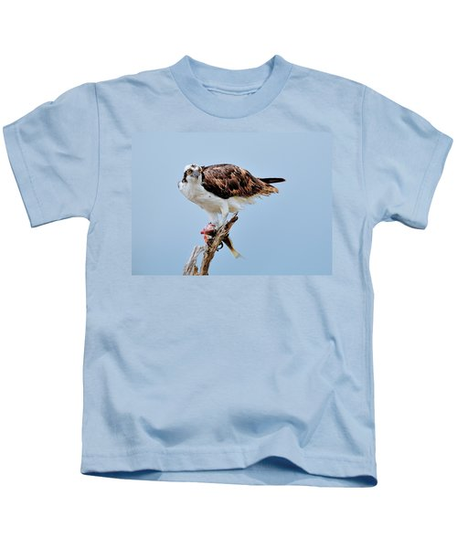 Osprey In The Morning Kids T-Shirt