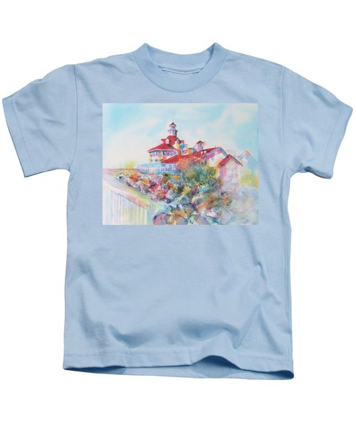 Party Time At Parker's Lighthouse Kids T-Shirt