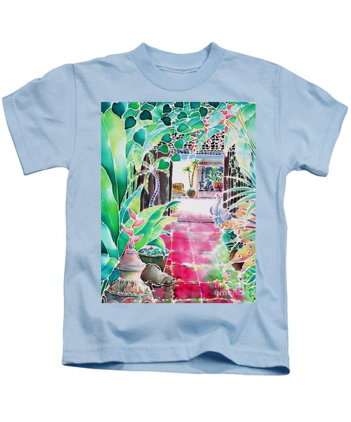 Shade In The Patio Kids T-Shirt