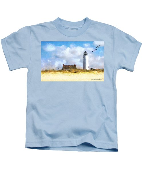 St. George Island Lighthouse Kids T-Shirt