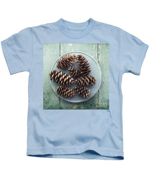 Stil Life With  Seven Pine Cones Kids T-Shirt