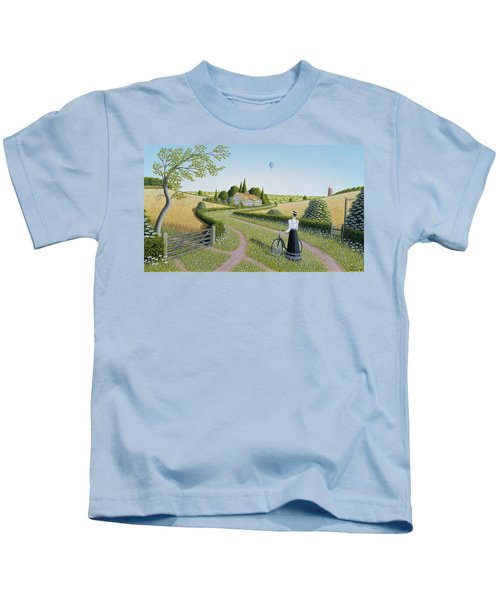 Summer Cycling Kids T-Shirt