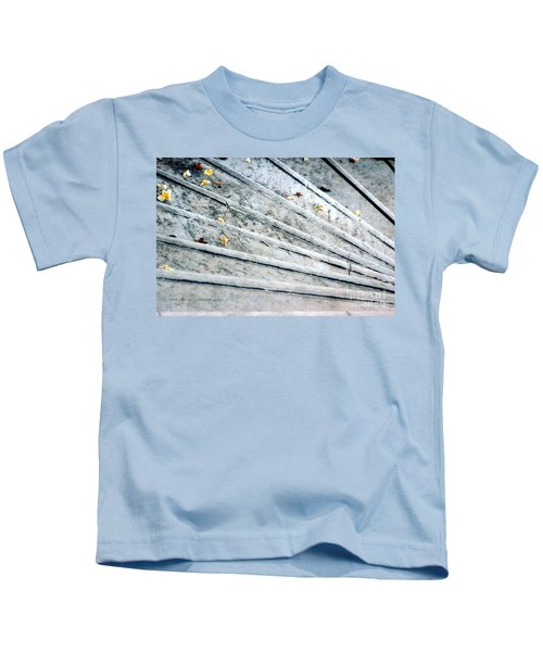 The Marble Steps Of Life Kids T-Shirt