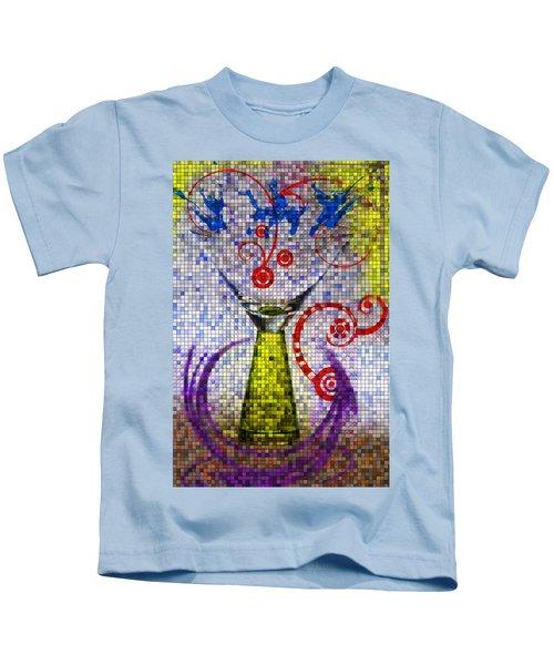Tiled Glass Kids T-Shirt