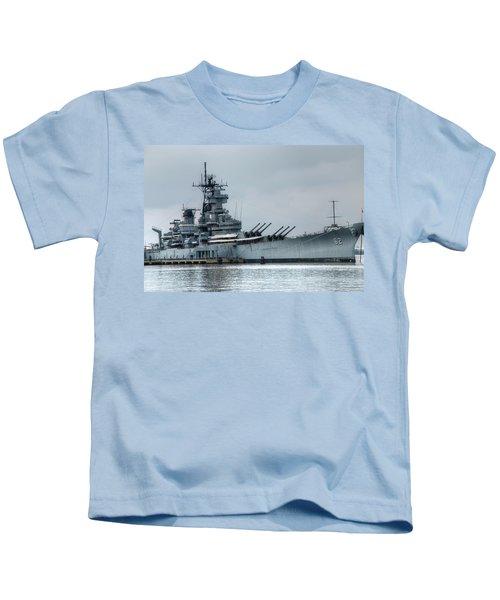 Uss New Jersey Kids T-Shirt
