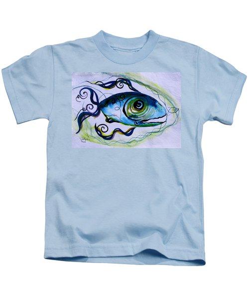Wtfish 009 Kids T-Shirt