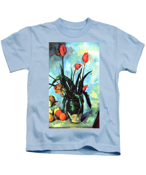 Tulips In A Vase Kids T-Shirt