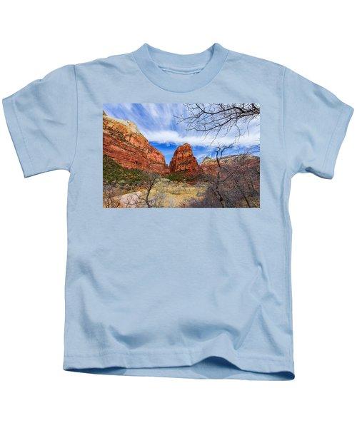 Angels Landing Kids T-Shirt