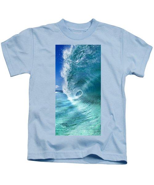 Barrel Swirl  -  Triptych  Part 2 Of 3 Kids T-Shirt