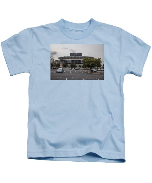 Beaver Stadium Penn State  Kids T-Shirt by John McGraw