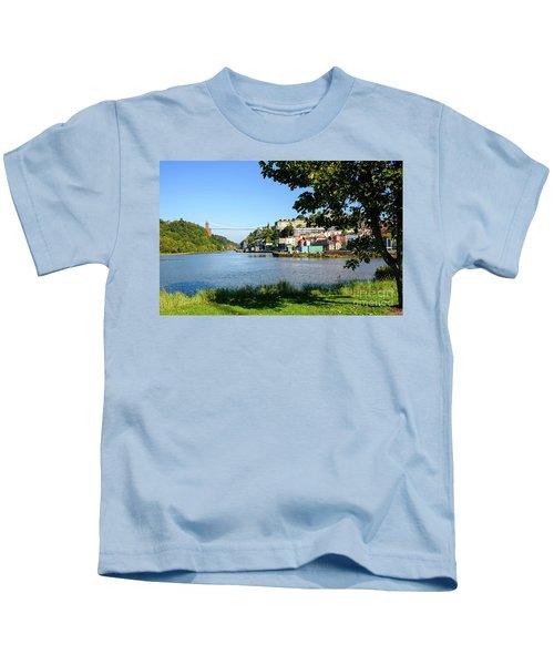 Clifton Suspenion Bridge Kids T-Shirt