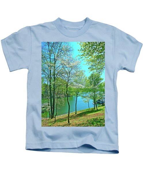 Cluster Of Dowood Trees Kids T-Shirt