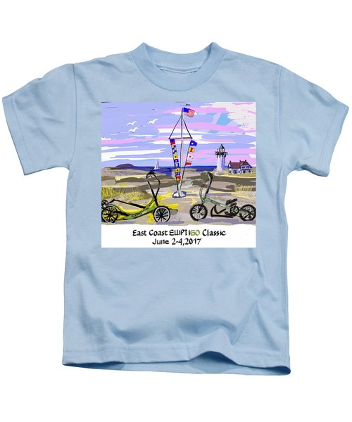 East Coast Elliptigo Classic Kids T-Shirt