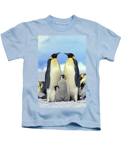 Emperor Penguin Aptenodytes Forsteri Kids T-Shirt
