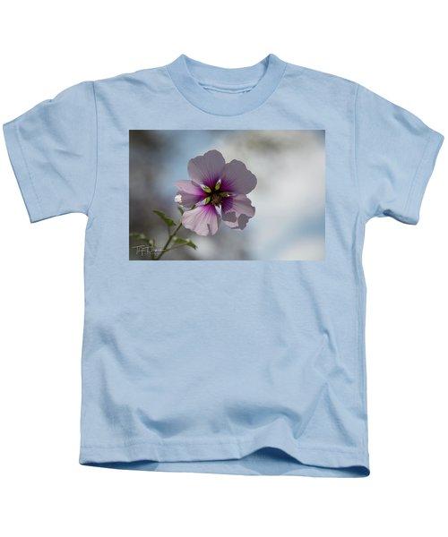 Flower In Focus Kids T-Shirt