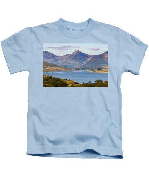 Loch Arklet And The Arrochar Alps Kids T-Shirt