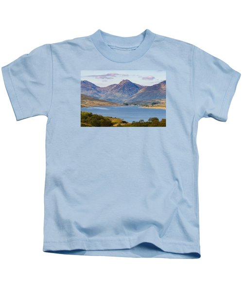 Loch Arklet And The Arrochar Alps Kids T-Shirt