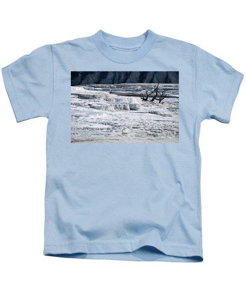 Mammoth Terraces Kids T-Shirt