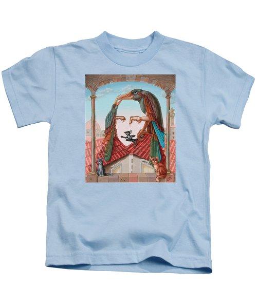Mona Lisa. Air Kids T-Shirt