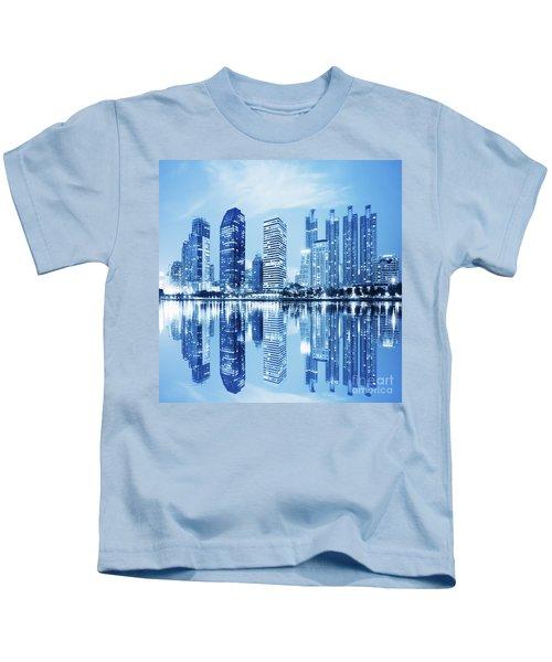 Night Scenes Of City Kids T-Shirt