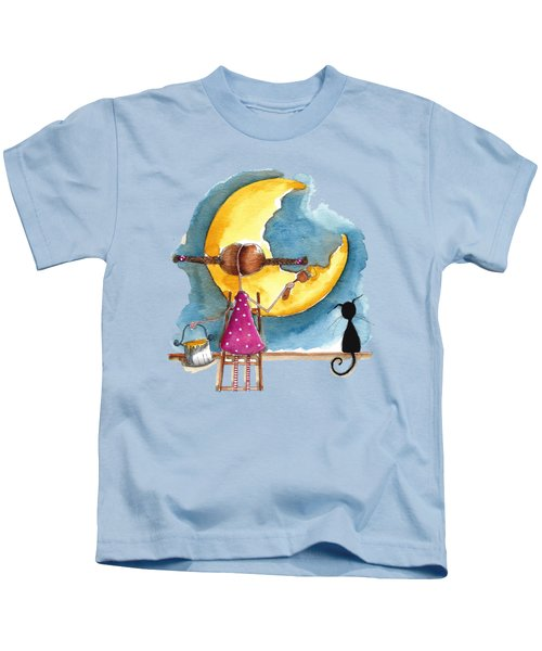 Painting The Moon Kids T-Shirt