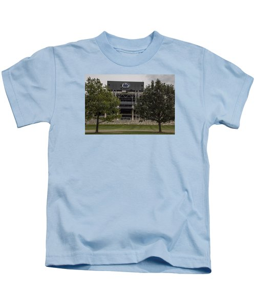 Penn State Beaver Stadium  Kids T-Shirt by John McGraw