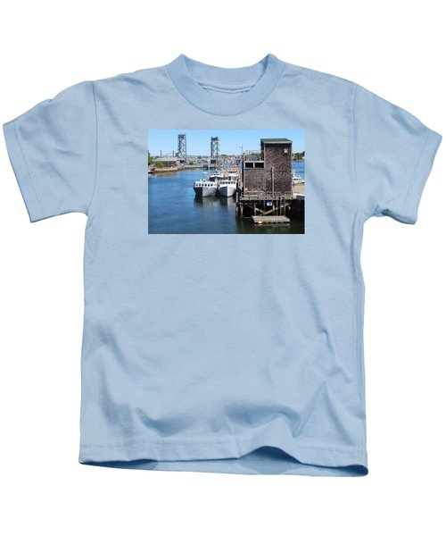 Portsmouth Nh  Kids T-Shirt