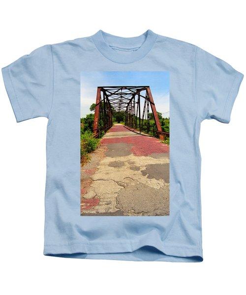 Route 66 - One Lane Bridge Kids T-Shirt