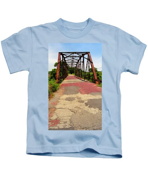 Route 66 - One Lane Bridge Kids T-Shirt