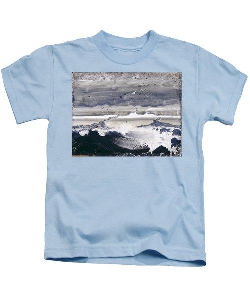 Stormy Sea Kids T-Shirt