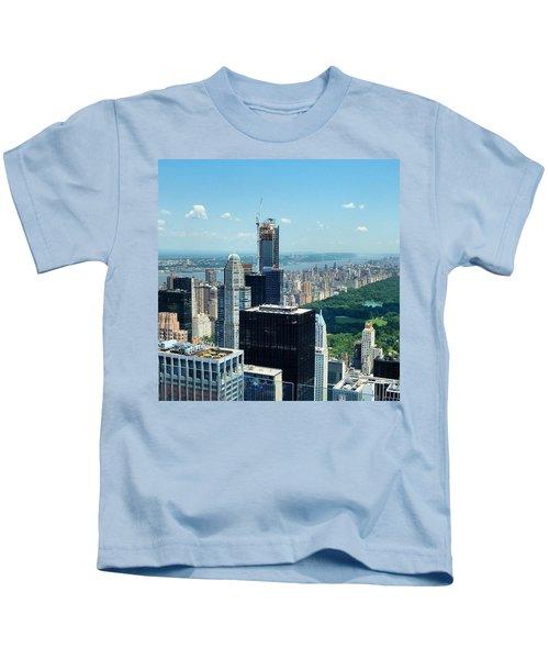 #tbt #nyc Summer Of 2013. #nofilter Kids T-Shirt