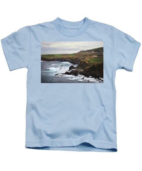 Terceira Coastline Kids T-Shirt