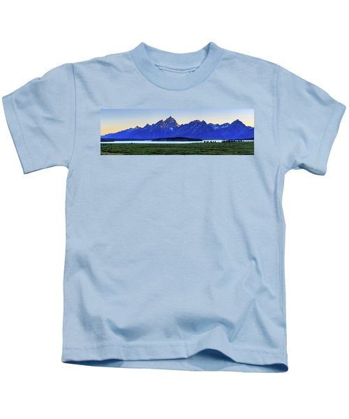 Teton Sunset Kids T-Shirt