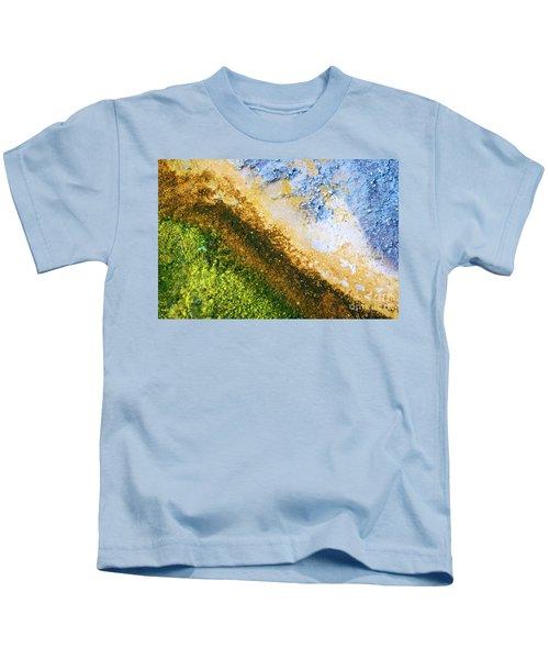 Yellowstone Abstract Kids T-Shirt