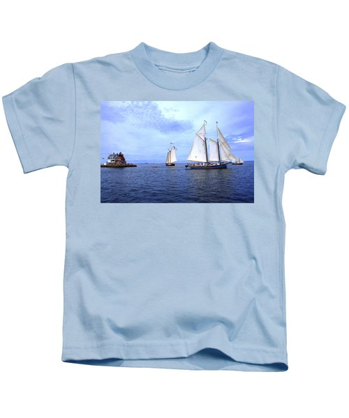 1871 Lewis R French Kids T-Shirt