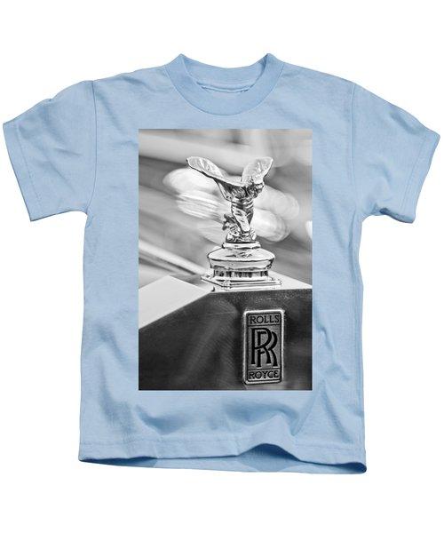 1952 Rolls-royce Silver Wraith Hood Ornament 2 Kids T-Shirt