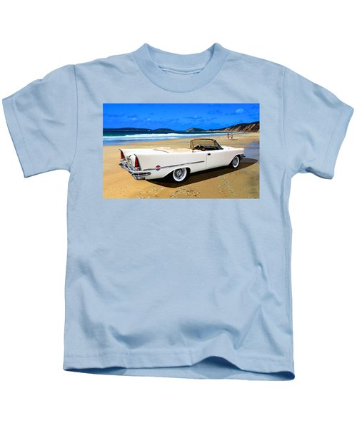 1957 Chrysler 300 C Kids T-Shirt