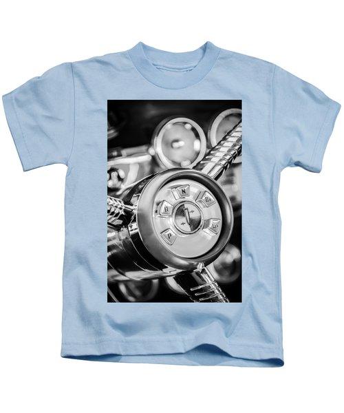 1958 Edsel Ranger Push Button Transmission 2 Kids T-Shirt