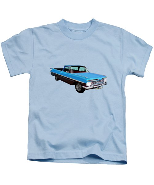 1959 El Camino 1st Generation Kids T-Shirt