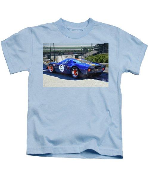 1966 Ford Gt40 'sports Racing' Kids T-Shirt