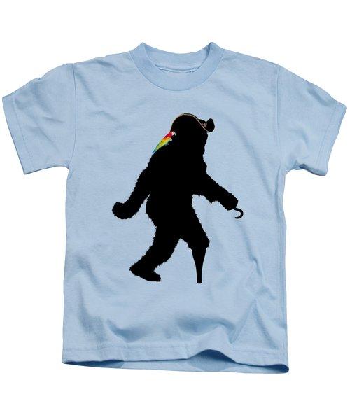 Gone Squatchin Fer Buried Treasure Kids T-Shirt